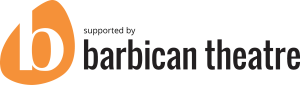 supported by Barbican Theatre logo